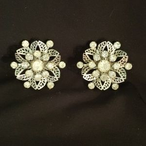 Jewelry - Vintage Rhinestone Brooches